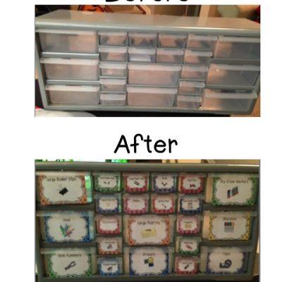 Storage Bin Make Overs