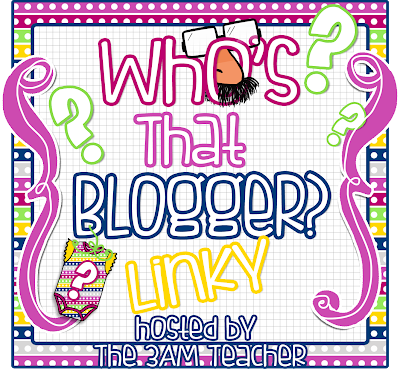 Who's That Blogger Linky
