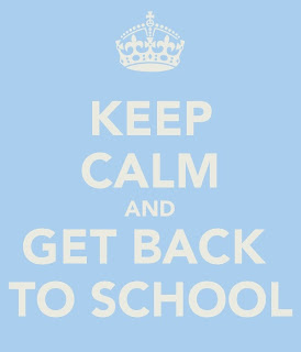 Keep Calm & Go Back to School with a GiveAway!