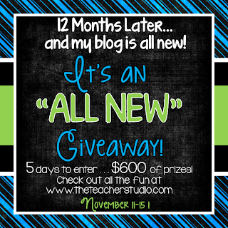 ALL NEW Giveaway!