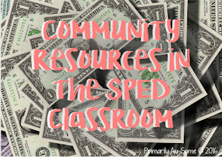 Community Resources for the Sped Classroom